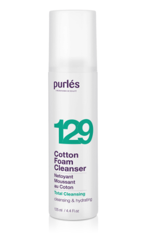 Cotton Foam Cleanser 129 box Purles
