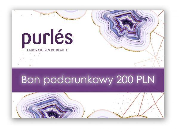 Bon podarunkowy Purles 200 PLN